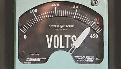 machine to measure volts