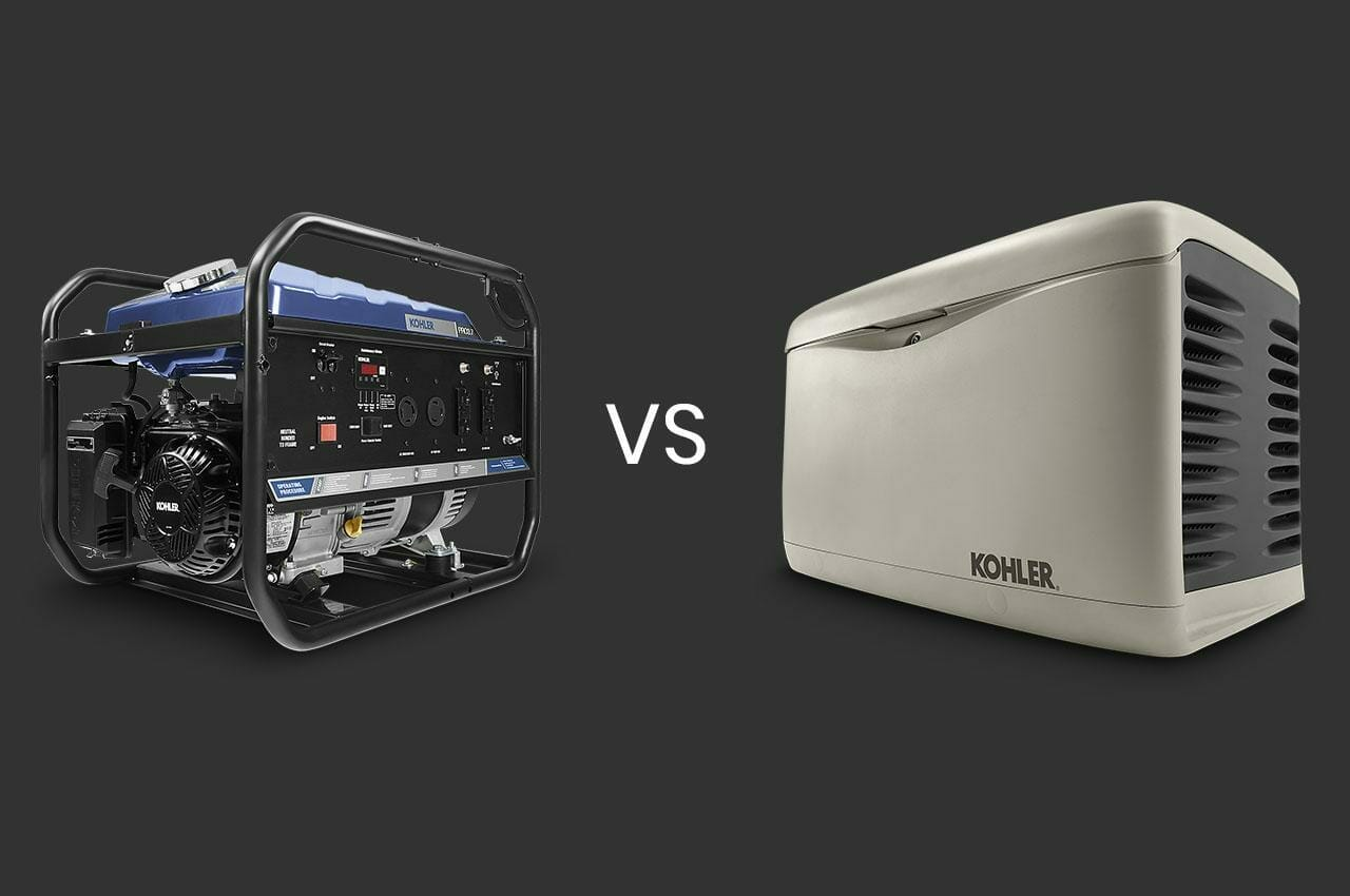 Standby VS Portable Generators
