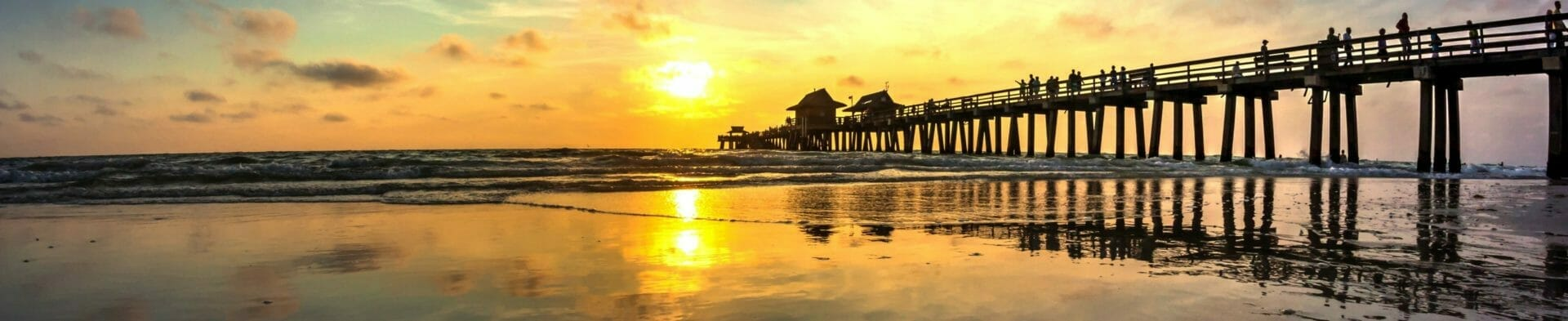 view of the Naples Pier
